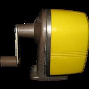 Retro Apsco School Desk Mounted Pencil Sharpener