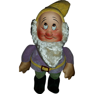 Snow White Bashful Dwarf made by R.G. Krueger