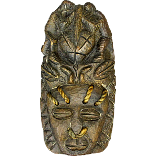 Tribal Wooden Mask