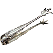 "Sterling Silver Sugar Tongs ""Lancaster"" by Gorham"