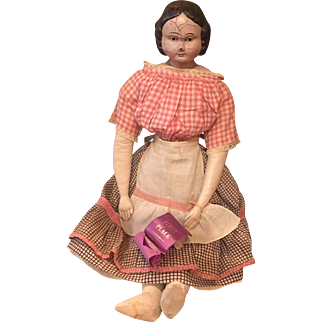 Rare early Goodyear rubber head doll
