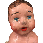 American cloth doll known as the Alabama baby