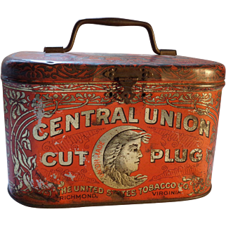 Central Union cut plug tin