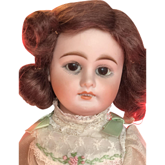 Antique Character Face Kuhnlenz German Bisque Doll