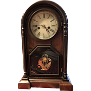 Antique Welch Spring Co. Rosewood Clock