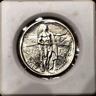 1926-S Oregon Trail Commemorative Silver Half Dollar