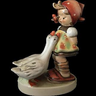 """Hummel Figurine """"Goose Girl"""" Goebel Full Bee Germany."""