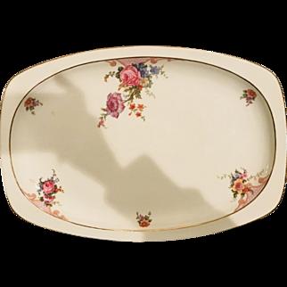 Vintage Epiag Czechoslovakian Porcelain Platter