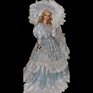 "42"" Porcelain Doll ""Blue Ice"" by Artist Rustie"