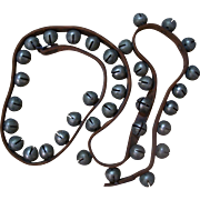 Long 84 Inch String of 36 Sleigh Bells