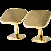 Men's 18k Gold Tiffany & Company Cufflinks