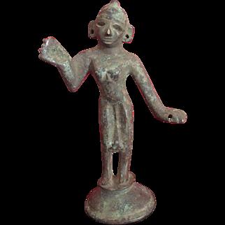 Antique, Beautifully patina, Hindu figurine..