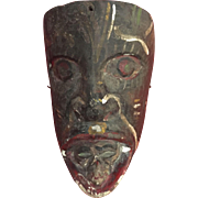 Authentic, Mexican burial mask..
