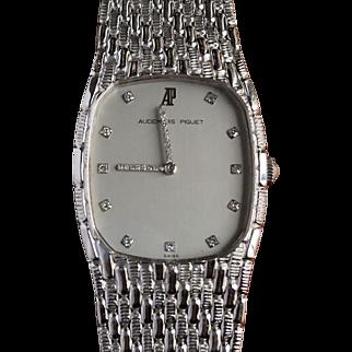 Audemars Piguet White Gold & Diamond Ladies Wristwatch