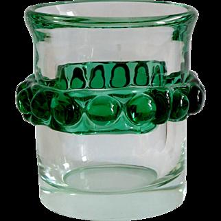 Pavel Jezek, Czechoslovakia Art Glass, Skrdlovice, 1972