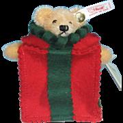 1999 Steiff Teddy Bear Christmas Ornament