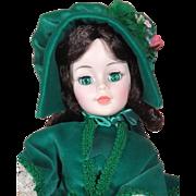 "Madame Alexander Portrait Scarlett 21"" MIB"