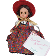 Madame Alexander Little Women Jo with Travel Trunk