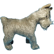 Gray Mohair Terrier Toy Dog Vintage