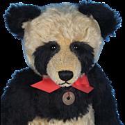 Beautifully Made Mohair Panda. Big and Huggable