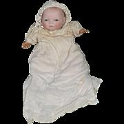 Bye Lo Bisque Head Doll Antique