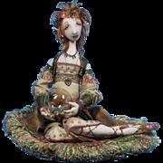 Doll Artist Cloth Fantasy Doll OOAK