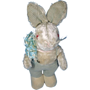 Plush 1935 Easter Bunny