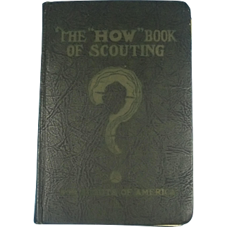 "The ""HOW"" Book of Scouting 1931"