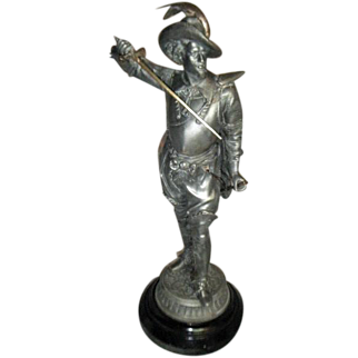 Vintage Ansonia Late 19th Century Don Caesar Statue
