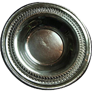 Vintage Wm. Rogers Reticulated 835 Silver Plate Bowl