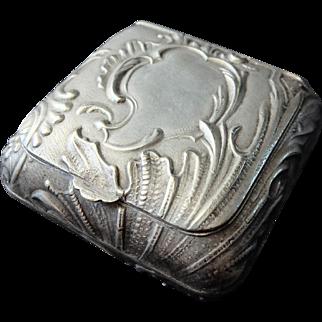 Early 20th century patch box, trinket box. pill box