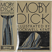 Melville's Moby Dick with illustrations by Rockwell Kent, first trade edition 1930.