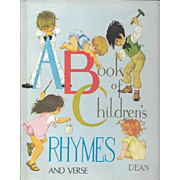 A Book of Children's Rhymes and Verses by Janet and Anne Grahame Johnstone