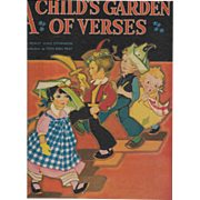 A Child's Garden of Verses illustrated by Fern Bisel Peat 1943