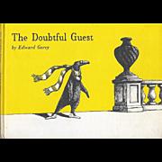 The Doubtful Guest by Edward Gorey, first U.K edition 1958