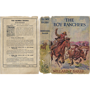 The Boy Ranchers; or, Solving the Mystery at Diamond X by Willard F. Baker 1921