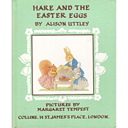 Hare and the Easter Eggs by Alison Uttley illustrated by Margaret Tempest 1952