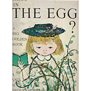 """""""Who's in the Egg?""""  by Alice and Martin Provensen"""