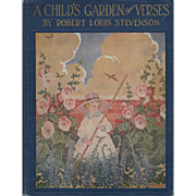 A Child's Garden of Verses, First Edition with illustrations by Ruth Mary Hallock, 1919.