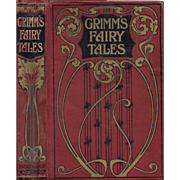 Grimm's Fairy Tales illustrated by Arthur Rackham First Edition ca. 1901