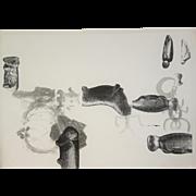 Lynda Benglis 1995 Lithograph Print