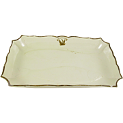 Antique Wedgwood Fish Dish, Platter, Cream Ware, Queen's Ware, Rectangle, circa 1764-1769
