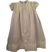 Victorian Style Baby Dress