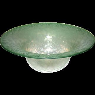 Louis Comfort Tiffany Favrile Glass Bowl