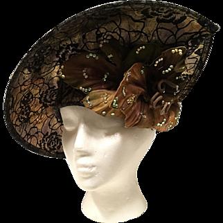 George Zamau'l Couture Hat