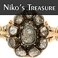 Niko's Treasure logo