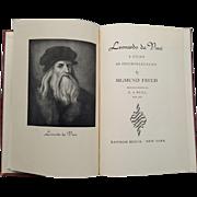 Leonardo da Vinci: A Study in Psychosexuality, First Printing 1947