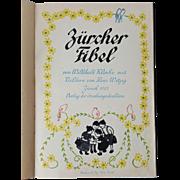 RARE 'Zurcher Primer Book' for German Children ~published 1921