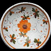 Lava Glazed Italian Fruit Bowl ~c.1969