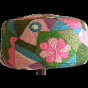 Funky 1950's pillbox style ladies hat